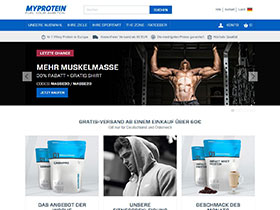 Myprotein Screen